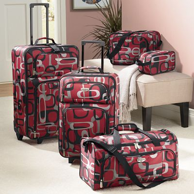 5-Piece Traveler's Club Luggage Set