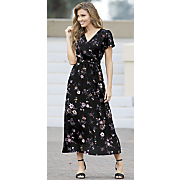 floaty floral maxi dress