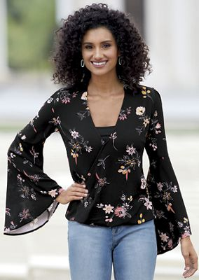 Floaty Floral Top