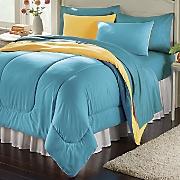 Colorful Living Reversible Mini Comforter Set