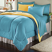 colorful living reversible mini comforter set