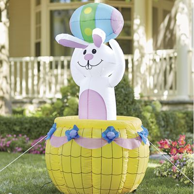 Up-&-Down-Bunny Inflatable
