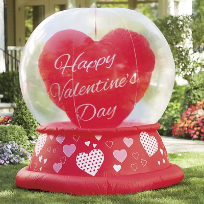 Spinning Heart Valentine Inflatable