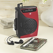 Portable Cassette Radio by GPX