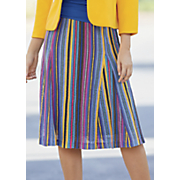 colorful knit skirt 26