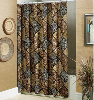 Uzuri Shower Curtain