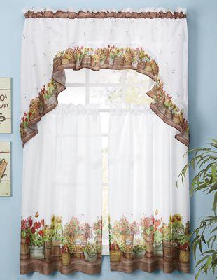 Country Garden Window Set