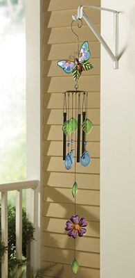Hand-Painted Annabelle Butterfly Chime
