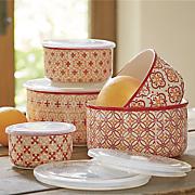 10 pc  geo storage bowl set