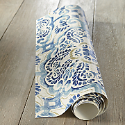 Blue Florentine Peel & Stick Wallpaper