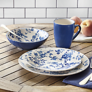 Laura Blue Dinnerware Set