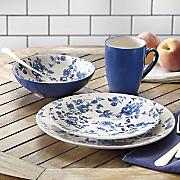 Laura Blue Dinnerware Set