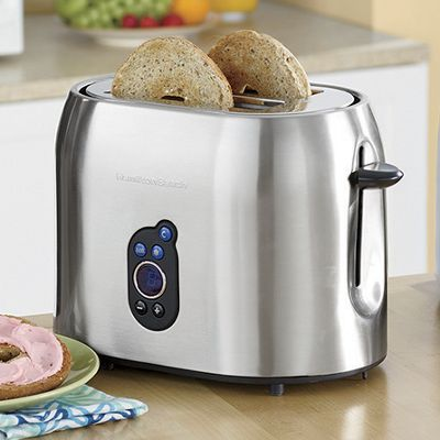 Stainless Steel 2-Slice Toaster by Hamilton Beach