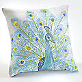 Aquarius Peacock Accent Pillow by Jessica Simpson