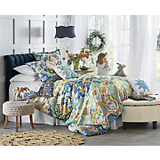 aquarius comforter set  decorative pillows and shower curtain by jessica simpson