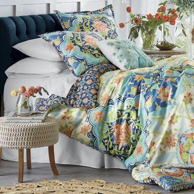 Aquarius Comforter Set, Decorative Pillows and Shower Curtain by Jessica Simpson