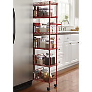 metal thin rolling pantry