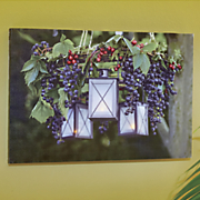 Grapevine Light-Up Canvas