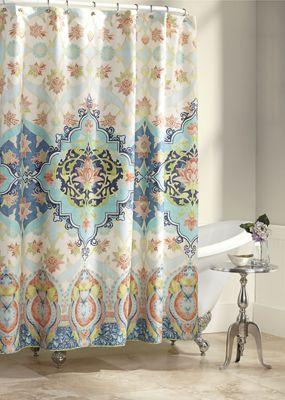 Aquarius Shower Curtain by Jessica Simpson