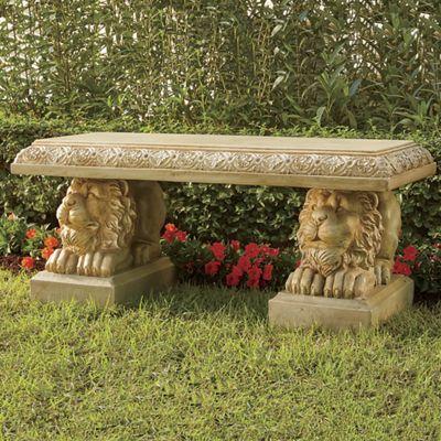 Lions' Head Bench