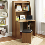 kendal desk with hidden stool