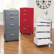 Locking 4-Drawer File Cabinet