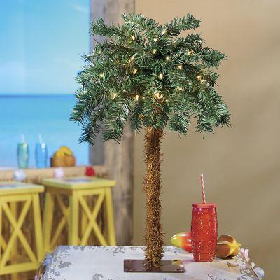 """24"""" Lighted Palm Tree"""