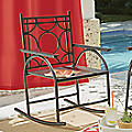 Round Ring Rocking Chair by Seventh Avenue
