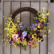 spring floral wreath 69