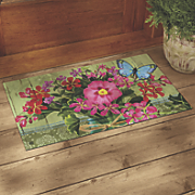 "Mason Jar Indoor/Outdoor Mat - 17 3/4"" X 29 1/2"""