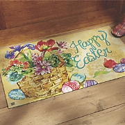 "Easter Indoor/Outdoor Mat - 17 3/4"" X 29 1/2"""