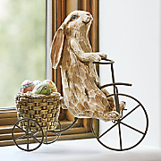 bunny with tricycle