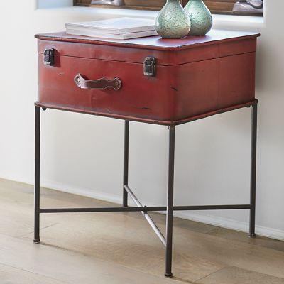 Suitcase Storage Table