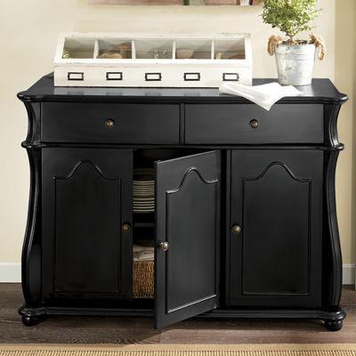 Scallop Buffet Cabinet