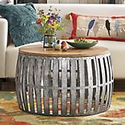 olive bucket coffee table