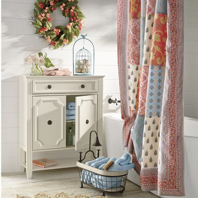 Beaded Cabinet and Space Saver