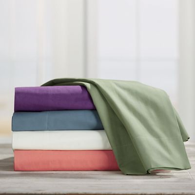 300-Thread Count Pure Percale Cotton Sheets