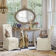 Set of 2 Tufted Side Chairs
