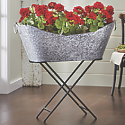 Galvanized Tub & Stand