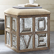 Love Storage Stool