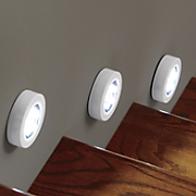 Set of 3 LED Motion-Sensor Lights