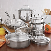 Stainless Steel Cookware Set by Emeril