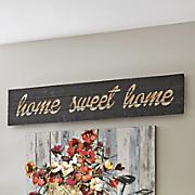 Sweet Home Plaque