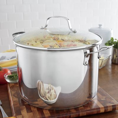 12-Qt. Stainless Steel Stock Pot by Emeril