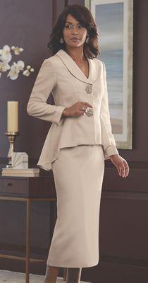 Chanel Peplum Skirt Suit