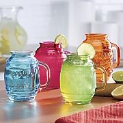 Set of 4 Barrel Mugs