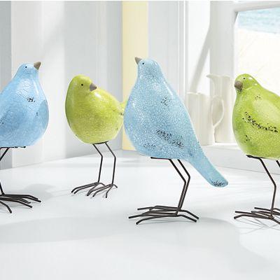 Set of 2 Welcoming Birds