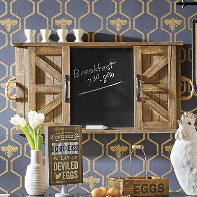 Barndoor Chalkboard