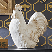 Carved Rooster