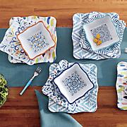 Melamine Square Dinnerware Set
